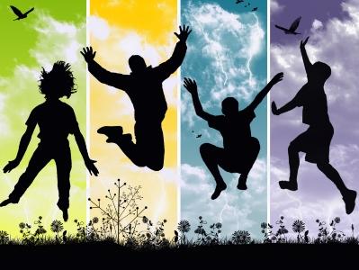 """""""As ideias das pessoas são pedaços da sua felicidade"""". - William Shakespeare"""